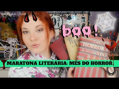 MARATONA LITERÁRIA | MÊS DO HORROR