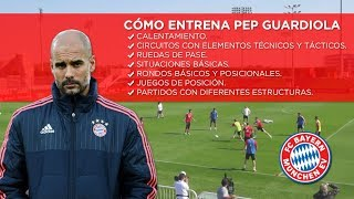 <p>Come allena Pep Guardiola</p>