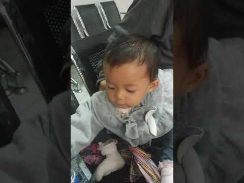 bayi cantik mainan di bri sama ayah (ayesha azkadina)