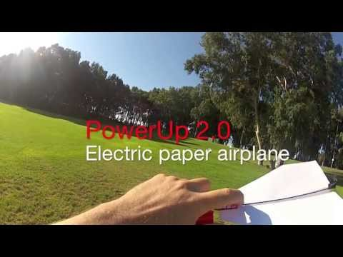 Power Up 2.0 Paper Plane