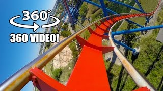 Superman Roller Coaster 360 VR POV Six Flags Fiesta Texas Virtual Reality #rollercoaster
