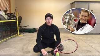 USTA Tennis at home tip