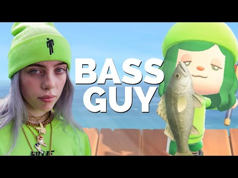 BASS GUY | Animal Crossing Parody