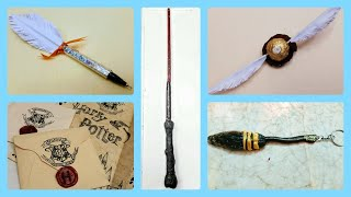 DIY Harry Potter Crafts   5 Magical Harry Potter Themed Craft Tutorial