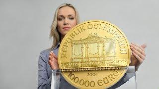 Топ 5 Самых Больших и Дорогих Золотых Монет в Мире