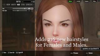 SKYRIM TEN MODS TO MAKE YOUR CHARACTER LOOK BETTER!!!