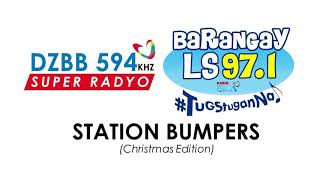 Super Radyo DZBB 594 and Barangay LS 97.1 Station Bumpers [Christmas Edition]
