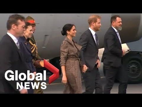 Prince Harry and Meghan depart Australia, head to New Zealand