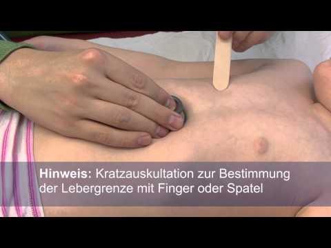 Folge 4 - Die Untersuchung des kindlichen Abdomens einschließlich Appendizitiszeichen