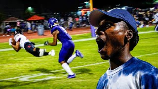 THE MOST INSANE ENDING TO A FOOTBALL GAME EVER!! (TRIPLE OVERTIME)