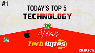 Today's Top 5 Interesting Trending Technological News | 01 | Tech Bytes