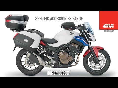 Specific accessories range for HONDA CB500F 2016