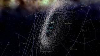 宇宙への旅 国立天文台が作った宇宙の広さを体験する