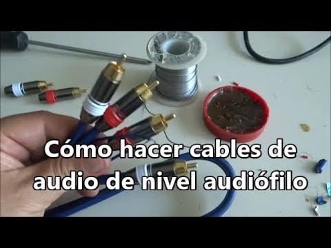 [Tutorial] Cómo hacer cable de audio, nivel audiófilo