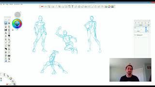 Drawing Tutorial - Sketching Dynamic Poses