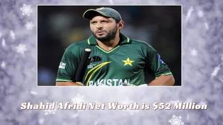 Shahid Afridi Daughters, Wife, Family, Net Worth, House, Sixes, Centuries & Records