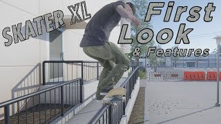 Skater XL - First Look & Features - The Future Of Skateboarding Games