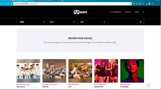 HOW TO VOTE QUICKLY FOR MAMA 2017