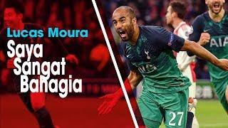 Lolos ke Partai Final Liga Champions Bersama Tottenham, Lucas Moura: Saya Sangat Bahagia