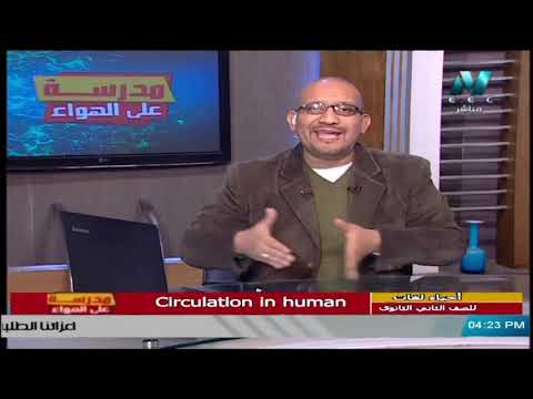 مباشر | أحياء لغات للصف الثاني الثانوي 2021 الحلقة 14 - Circulation in human