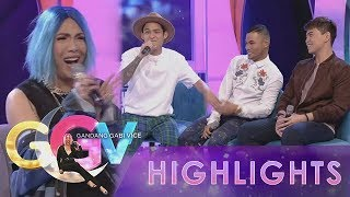 Vice Ganda blushes as Michael Pangilinan, Bugoy Drilon, and Daryl Ong sing.  Subscribe to the ABS-CBN Entertainment channel! - http://bit.ly/ABSCBNOnline  Watch the full episodes of Gandang Gabi Vice on TFC.TV   http://bit.ly/GGV-TFCTV and on IWANT.TV for Philippine viewers, click: http://bit.ly/GGV-IWANTv  Visit our official website!  http://entertainment.abs-cbn.com http://www.push.com.ph  Facebook: http://www.facebook.com/ABSCBNnetwork  Twitter:  https://twitter.com/ABSCBN https://twitter.com/abscbndotcom Instagram: http://instagram.com/abscbnonline