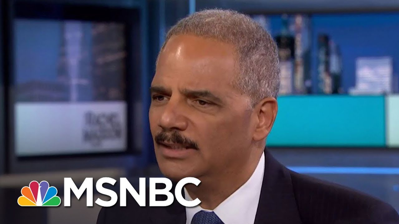 Eric Holder: President Trump 'Unwise' To Attack Sessions Over Comey, Russia | Rachel Maddow | MSNBC thumbnail