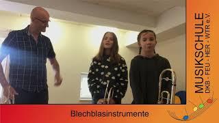 Musikschule Blechblasinstrumente
