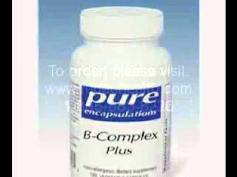 Pure Encapsulations B-Complex Plus at EasyLivingHealth.com
