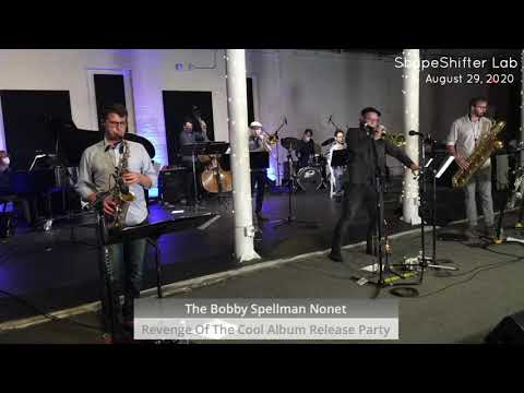 """The Bobby Spellman Nonet performing the original """"Genesis"""" at Brooklyn's Shapeshifter Lab."""