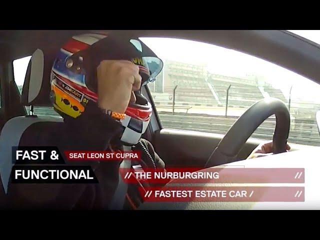 SEAT Cupra Estate breaks record at Nürburgring