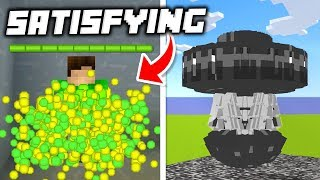 20 Extremely Satisfying Things in Minecraft!