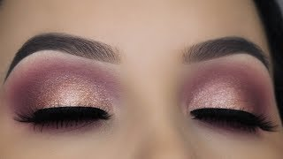 5 Minute Eye Makeup For Hooded Eyes |  Using ONLY 2 Eyeshadows