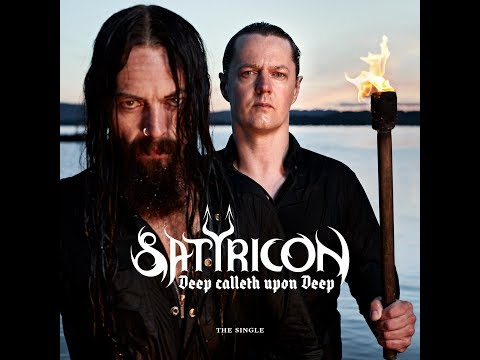 Satyricon - Deep calleth upon Deep - Lyric video online metal music video by SATYRICON