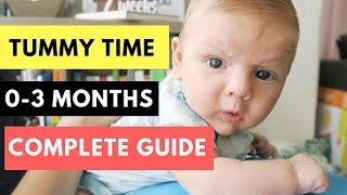 Tummy Time for Babies (0-3 Month Old)