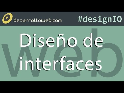 Diseño de interfaces para la web #designIO