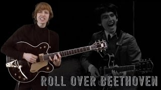 Roll Over Beethoven Studio Cover - The Beatles - Lead Guitar Solo, Bass, Drums and Vocals