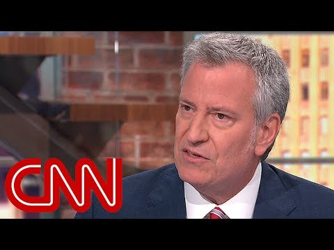 Bill de Blasio talks late-night, his love of ska, and 2020 run