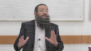 הלכות ערובין סימן שמה סעיפים יד-סוף. הרב אריאל אלקובי שליט''א.