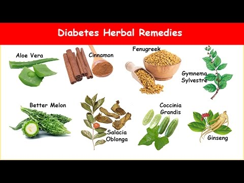 Video 8 Diabetes Herbs Lower Blood Sugar & A1C!