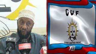 KATIBU MKUU Wa CUF acharuka Sakata la Bendera Za CUF KUCHOMWA MOTO Zanzibar