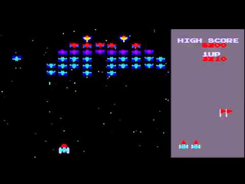Classic Arcade Game Galaxian on PS3 in True HD 720p358