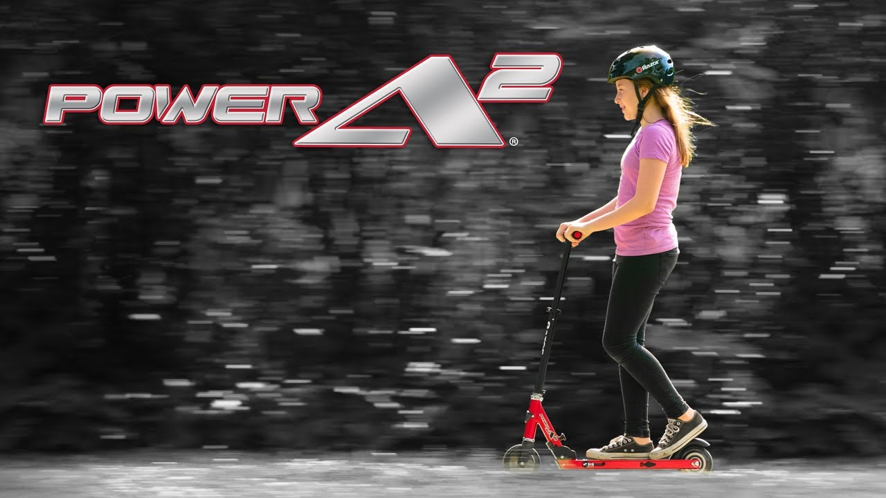 Razor Power A2 Ride Video