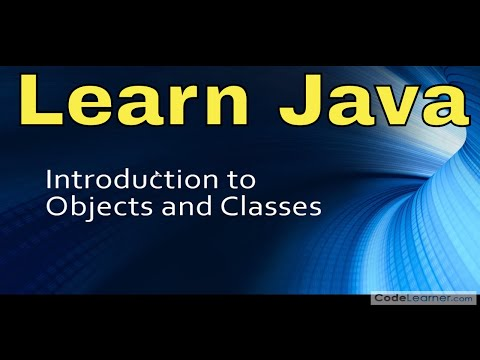 Java Programming Tutorial – 03 – Introduction to Classes & Objects