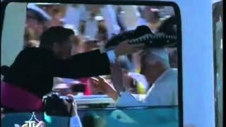 Papež pri maši v Parque del Bicentenario