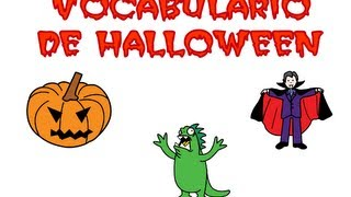 Aprendemos el vocabulario de Halloween