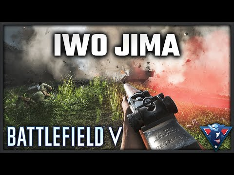 IWO JIMA IS BRUTAL || Battlefield V - War in the Pacific Gameplay