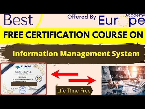 Best Free Certification Course On Information Management System ...