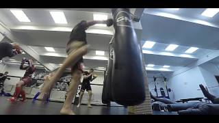 Training of professional MMA fighters in GM GYM