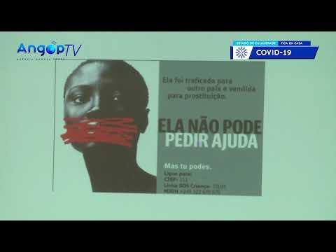 Angola regista 110 casos de tráfico de seres humanos