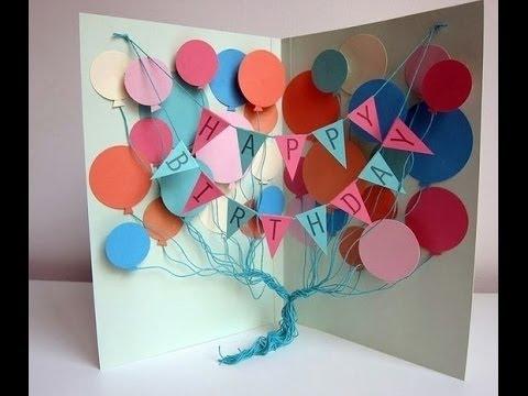 открытка с днем рождения своими руками с фото